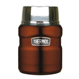Thermos King Food Jar Marron